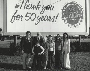 Image of Family under Sign